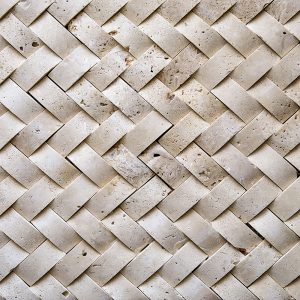 25x50mm Wicker Mosaic