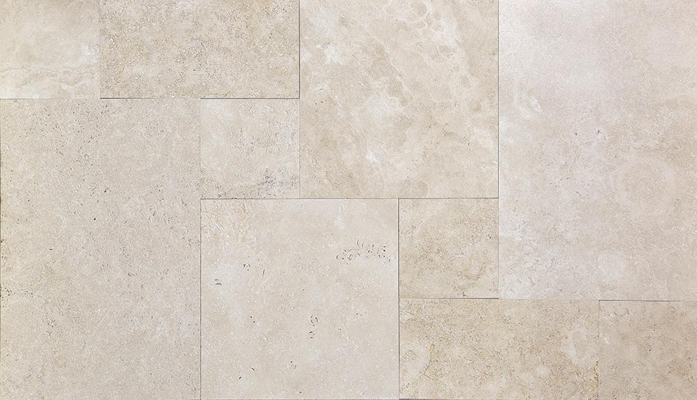 light-travertine-brushed-straight-edge-pattern-set